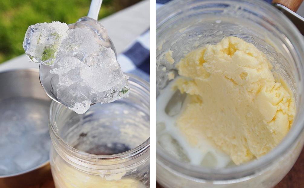 banha de galinha e gelo para acalmar a pele